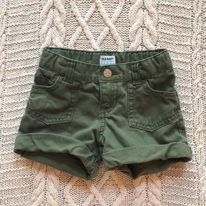 Olive Old Navy shorts